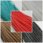 5/10M Man-made Leather Braid Rope Hemp Cord Fit Charm Bracelet Rope Making 5mm