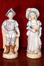 A Pair of Antique Porcelain Figurines