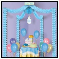 It's a Boy (BLUE)  Decorating Kit for Baby Shower - Easy to Assemble