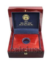 2009 ULTRA HIGH RELIEF DOUBLE EAGLE $20 GOLD COA MAHOGANY WOOD BOX OGP NO COIN