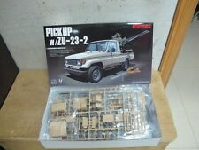 Toyota Land Cruiser 70 Armed pickup truck with gun 1/35 model car kit free ship