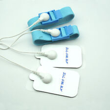 Electric Stimulation Therapy Kit, 2 Pcs Sticky Pads Patch 2 Pcs Penis Ring Delay