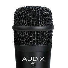 Audix F5 Dynamic Instrument Microphone w/ Pouch and Clip