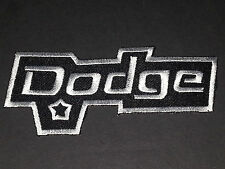 MOTORSPORTS MOTOR RACING SEW/IRON ON PATCH:- DODGE (b)