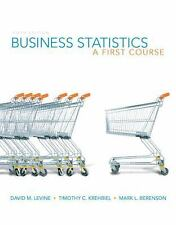 Business Statistics: A First Course (5th Edition) (MyStatLab Series)