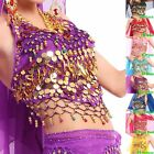 8 Colors Belly Dance Costume Handmade Sexy Bra tops with Sequins Beads Bells