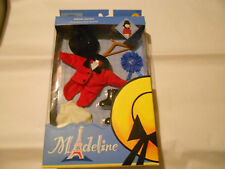 Madeline Horse Riding Outfit 8 Inch Doll Red Jacket Pants Boots Hat Ribbon New