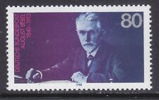 Germany 1562 MNH 1988 August Bebel - Social Democratic Party Founder Issue VF