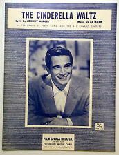 PERRY COMO Sheet Music THE CINDERELLA WALTZ Criterion Publ. 60's POP Vocal