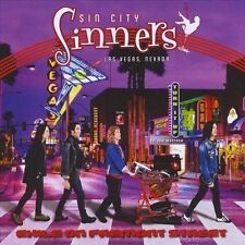 RARE Sin City Sinners Exile on Fremont Street Sealed CD Out of Print