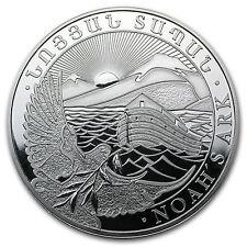 2014 Armenia 1 oz Silver 500 Drams Noah's Ark Coin - SKU #79592
