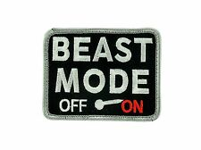 Patch beast mode on army military morale tactical badge combat airsoft