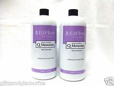 Ezflow Acrylic Nai Q Liquid Monomer 32oz/946ml ~ 2ct~ = 64oz/1892mL