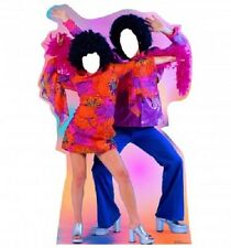 70's DANCE COUPLE STANDIN * standups * standees * cutouts * disco party *
