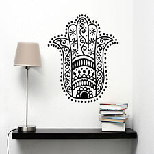Islam Muslim Wall Decal The Hamsa Hand Decorative Sticker Vinyl Art Room Mural