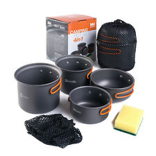 Naturehike 2-3 persons Outdoor Pot Sets Camping Cookware Picnic Pots and Pans