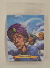 2004 Quirinus Quirrell Chocolate Frog Moving Lenticular Card #12 Harry Potter