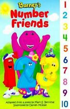 Barney's Number Friends Mark S. Bernthal Board book