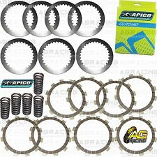 Apico Clutch Kit Steel Friction Plates & Springs For Yamaha YZ 125 2002-2004