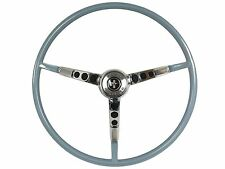 1966 Ford Mustang Reproduction Blue Steering Wheel with Horn Ring