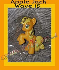My Little Pony MLP FIM ●APPLE JACK● Wave 15 ☆☆NEW IN CLEAR BAG☆☆ 3+