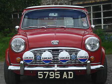 "LUCAS RALLY 576s 6"" 700s 7"" SPOT/FOG LAMP/LIGHT COVERS MINI COOPER-S"