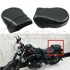 Rear Passenger Seat Pillion Cushion For Harley Sportster Iron 883 Nightster 1200
