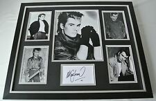 Nik Kershaw SIGNED FRAMED Photo Autograph Huge display 80's Music AFTAL & COA