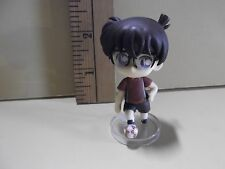 "#A424 Unknown Anime 2.5""in Boy Wearing Glasses Red Shirt Kicking Soccer Ball"