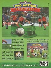 X7334 Pro Action Football - Parker - Pubblicità 1994 - Vintage advertising