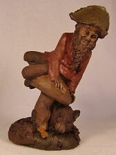 KEVIN AND CORA 1991~Tom Clark Gnome-Figurine~Cairn #5152-Retired~Ed #61~Story