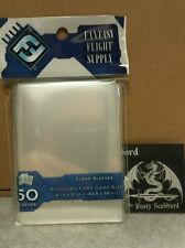 63.5 x 88 Standard CLEAR Card Game Sleeves Fantasy Flight Grey Pack FFS05