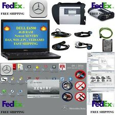 MB SET SD C4 + NEW XENTRY 2016/09-11 + DELL E6500  4GB  Mercedes Star DAS