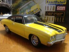 "Exact Detail 1:18 1970 Chevrolet ""Cheap Street"" Chevelle Car Craft by LANE"