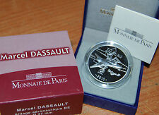 France 2010 Marcel DASSAULT 10 euro Silver Proof - Francia 10€ plata silber