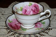 Royal Albert - American Beauty - Cup and Saucer Set (Excellent Condition)