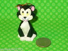 "DISNEY Storybook Christmas Ornament PINOCCHIO FIGARO CAT Replacement 2"" tall"