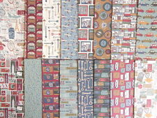 """Sample pack - Travel Notes 6x6"""" scrapbook backing papers x16"""
