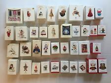 Lot of 37 Hallmark Keepsake Ornaments 2006-2015 Magic Singles Membership Series