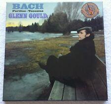 CBS 79409 BACH:PARTITAS-TOCCATAS GLENN GOULD MASTERWORKS 4 LP BOX GERMANY