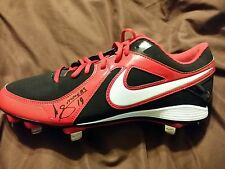 Atlanta braves andrelton simmons signed nike baseball cleat w/COA