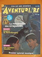Les Aventuriers. La revanche des crapauds N° 27 du 06/2000. Milan Presse