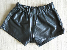RoB black leather short  size medium Bluf - Gay!