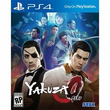 PS4 Yakuza 0 The Business Edition NEW Sealed REGION FREE USA standard game