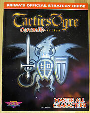 Tactics Ogre - Prima's Official Strategy Guide - Guida - New