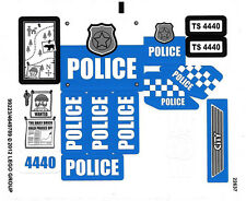 LEGO 4440 - Town / City: Police - Forest Police Station - STICKER SHEET