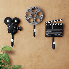 Film Equipment Design Resin Metal Wall Mounted Storage Hooks Movie Maker Styles