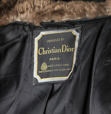 CHRISTIAN DIOR VINTAGE ROCKEFELLER FAB COAT - EXCEPTIONAL&RARE- MAKE AN OFFER!