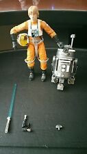 Star Wars The Black Series 6 Inch R2-F2 & Luke Skywalker x-wing pilot #01