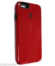Genuine Speck CandyShell Case iPhone 6/6S Red/black Protecive hard Cover Skin